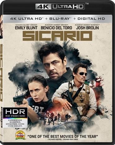 Sicario (2015) 4K Ultra HD Blu-ray