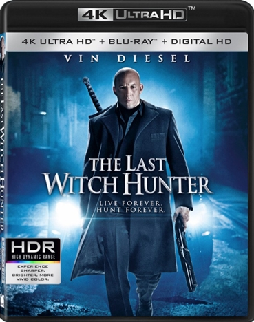 The Last Witch Hunter (2015) 4K Ultra HD Blu-ray