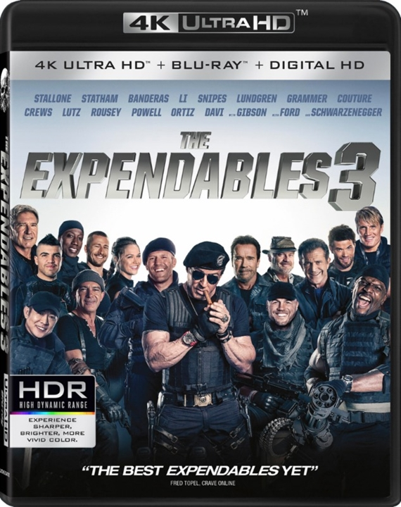 The Expendables 3 (2014) 4K Ultra HD Blu-ray