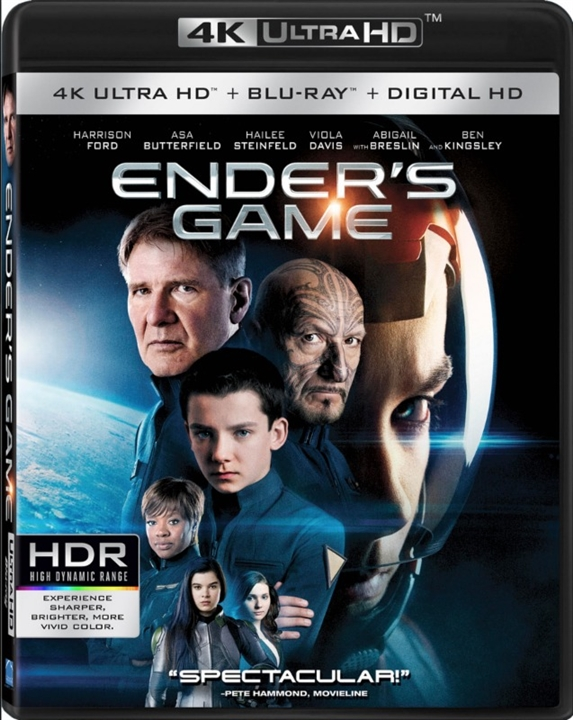 Enders Game (2013) 4K Ultra HD Blu-ray