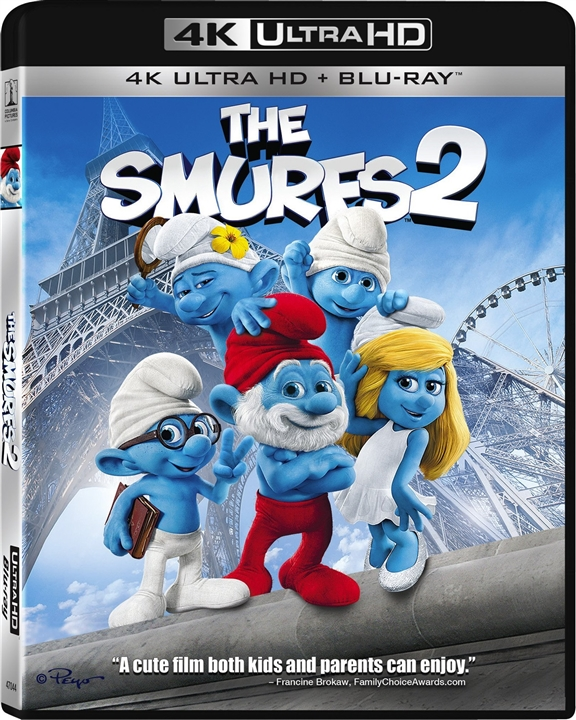 The Smurfs 2 (2013) 4K Ultra HD Blu-ray