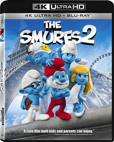 The Smurfs 2 (2013) 4K Ultra HD Blu-ray