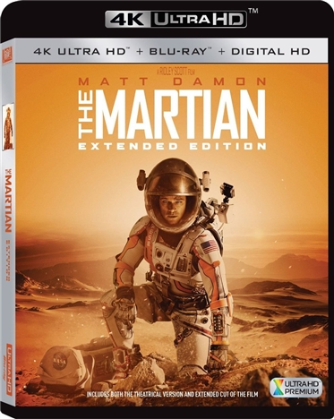 The Martian 4K (Extended Edition) (2015) 4K Ultra HD Blu-ray