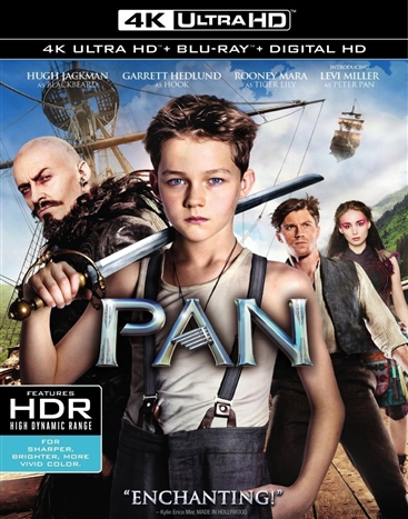 Pan (2015) 4K Ultra HD Blu-ray