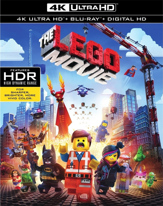 The LEGO Movie (2014) 4K Ultra HD Blu-ray