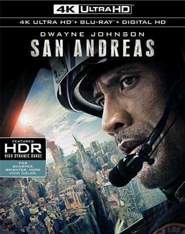 San Andreas (2015) 4K Ultra HD Blu-ray