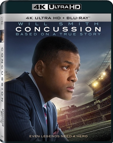 Concussion (2015) 4K Ultra HD Blu-ray