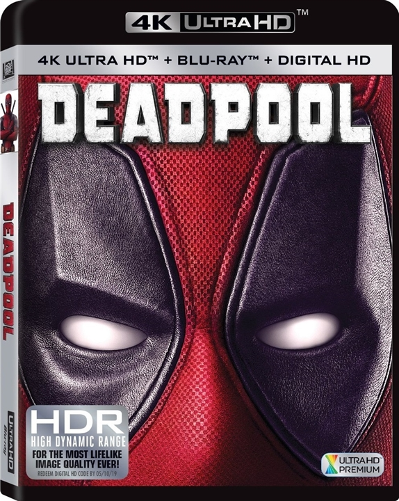 Deadpool 4K (2016) 4K Ultra HD Blu-ray