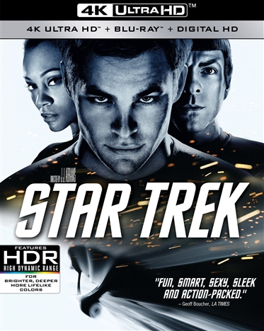 Star Trek (2009) 4K Ultra HD Blu-ray
