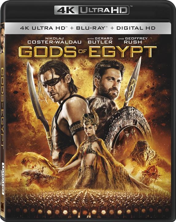 Gods of Egypt (2016) 4K Ultra HD Blu-ray