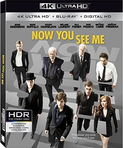 Now You See Me (2013) 4K Ultra HD Blu-ray