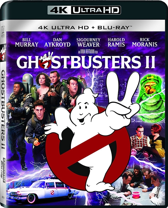 Ghostbusters II (1989) 4K Ultra HD Blu-ray