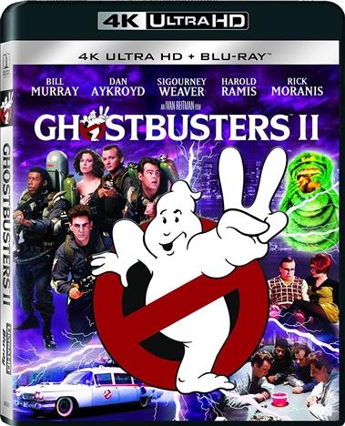 Ghostbusters II (1989) 4K Ultra HD Blu-ray