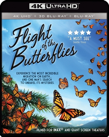 Flight of the Butterflies (2012) 4K Ultra HD Blu-ray