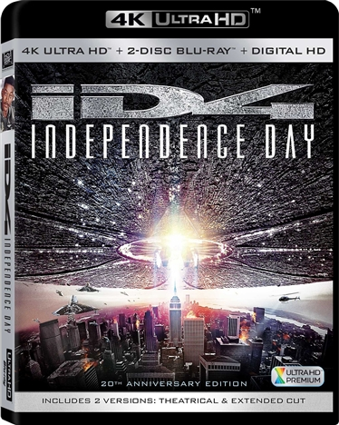 Independence Day (1996) 4K Ultra HD Blu-ray
