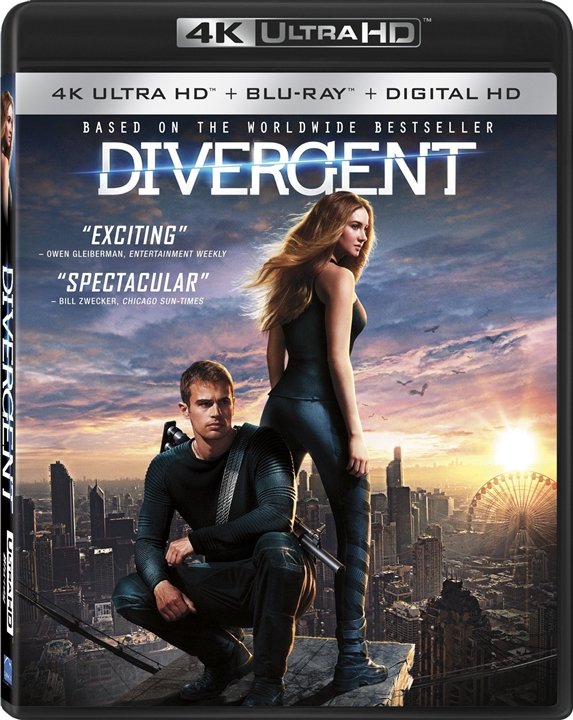 Divergent (2014) 4K Ultra HD Blu-ray