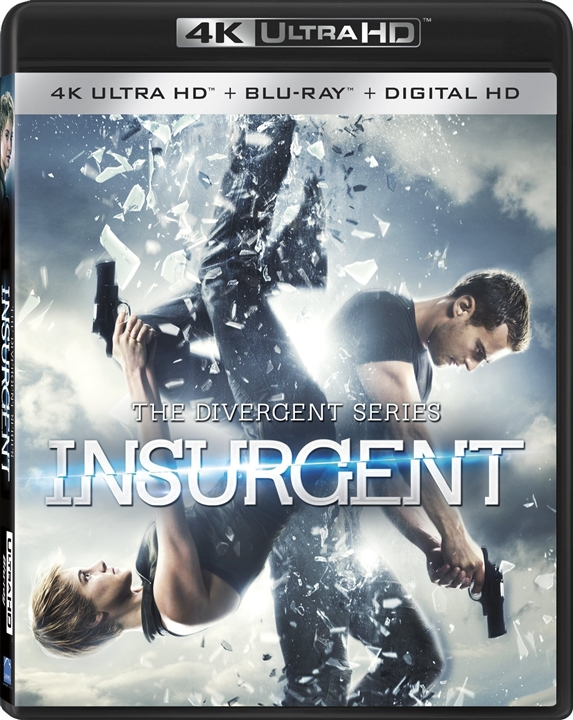 Insurgent (The Divergent Series)(2015) 4K Ultra HD Blu-ray