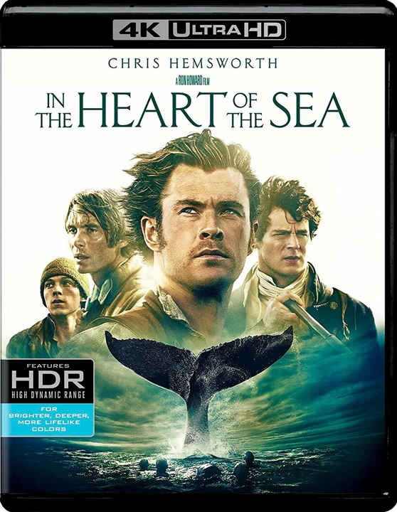In the Heart of the Sea (2015) 4K Ultra HD Blu-ray