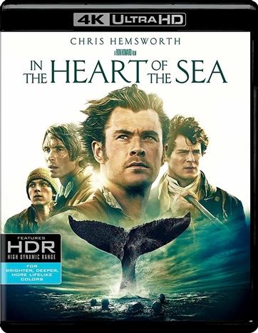In the Heart of the Sea (2015) 4K Ultra HD Blu-ray