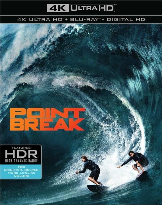 Point Break (2015) 4K Ultra HD Blu-ray