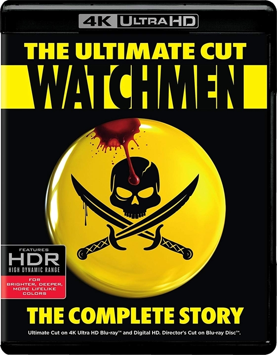 Watchmen (2009) The Ultimate Cut 4K Ultra HD Blu-ray UHD
