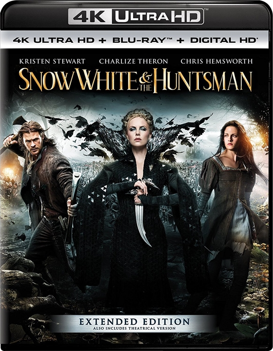 Snow White and the Huntsman (2012) 4K Ultra HD Blu-ray
