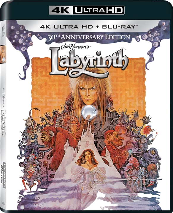 Labyrinth (30th Anniversary Edition)(1986) 4K Ultra HD Blu-ray UHD