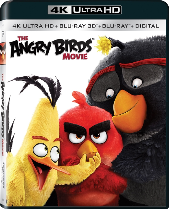 The Angry Birds Movie (2016) 4K Ultra HD Blu-ray + Blu-ray 3D