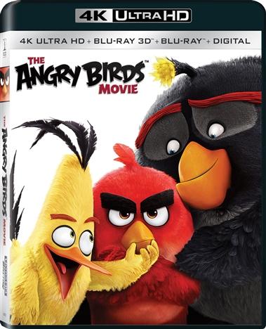 The Angry Birds Movie (2016) 4K Ultra HD Blu-ray + Blu-ray 3D