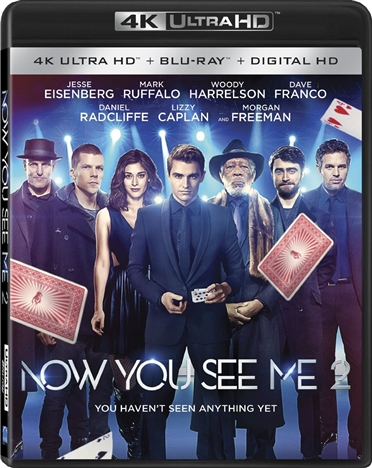 Now You See Me 2 4K (2016) 4K Ultra HD Blu-ray