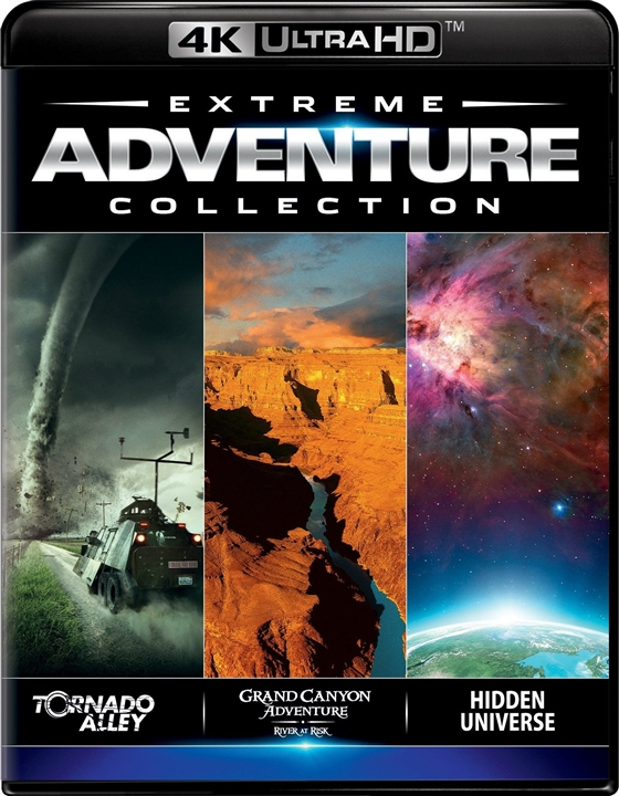 IMAX: Extreme Adventure Collection 4K (2008-2013) 4K Ultra HD Blu-ray