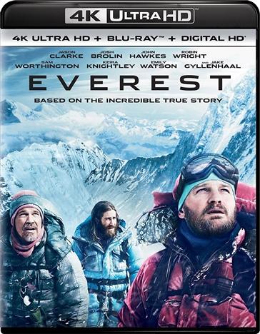 Everest 4K (2015) 4K Ultra HD Blu-ray