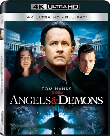 Angels & Demons (2009) 4K Ultra HD Blu-ray
