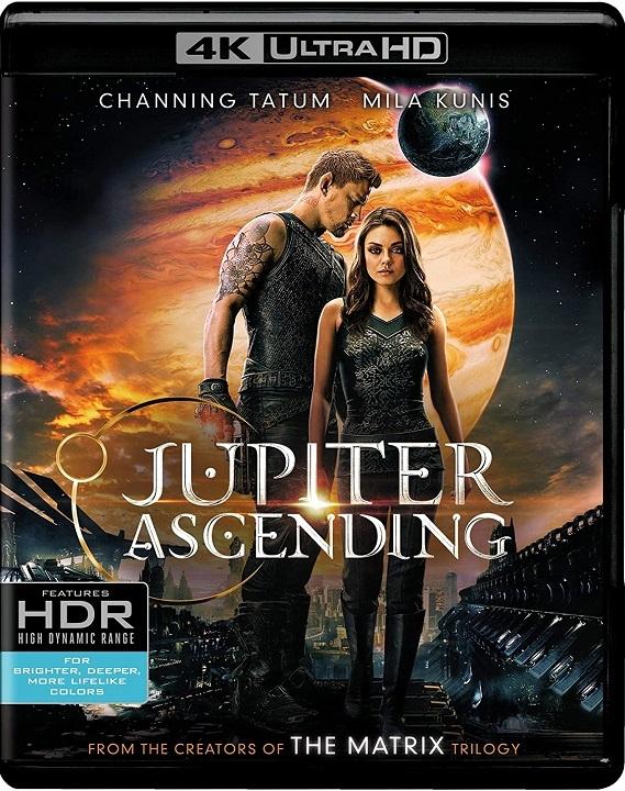 Jupiter Ascending (2015) 4K Ultra HD Blu-ray