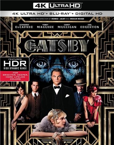 The Great Gatsby (2013) 4K Ultra HD Blu-ray