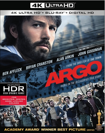 Argo (2012) 4K Ultra HD Blu-ray