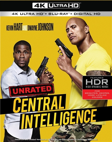 Central Intelligence (2016) 4K Ultra HD Blu-ray