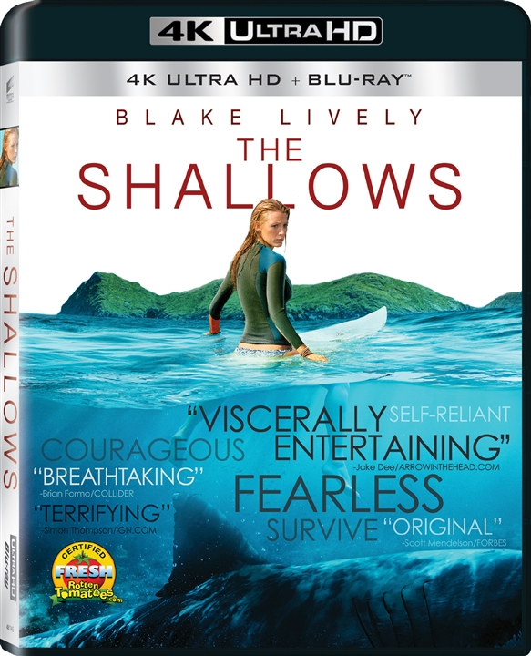 The Shallows (2016) 4K Ultra HD Blu-ray