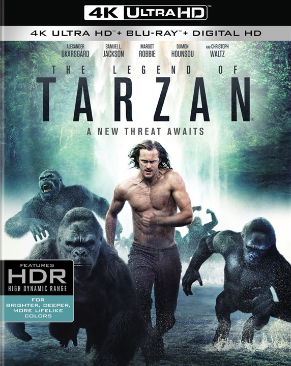 The Legend of Tarzan 4K (2016) 4K Ultra HD Blu-ray