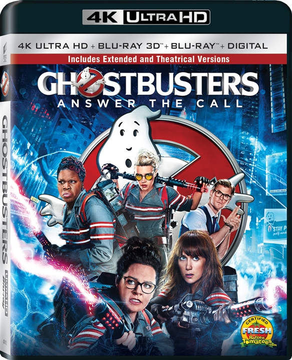 Ghostbusters (2016) 4K Ultra HD Blu-ray