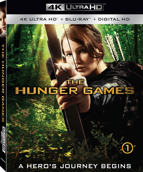 The Hunger Games (2012) 4K Ultra HD Blu-ray