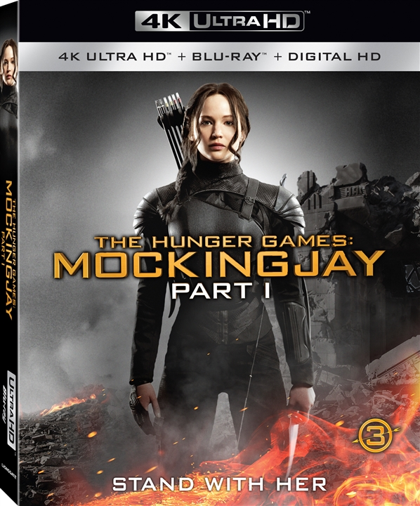 The Hunger Games: Mockingjay - Part 1 (2014) 4K Ultra HD Blu-ray