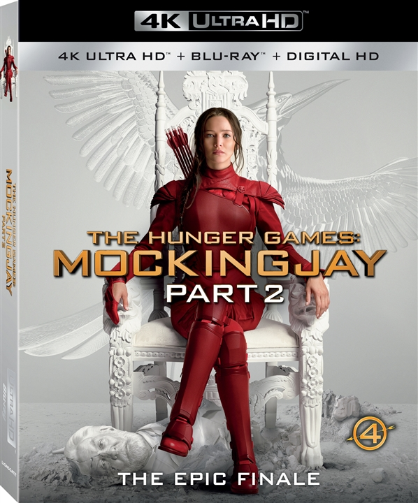 The Hunger Games: Mockingjay - Part 2 (2015) 4K Ultra HD Blu-ray