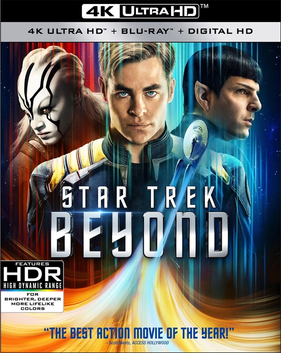 Star Trek Beyond 4K (2016) Ultra HD Blu-ray