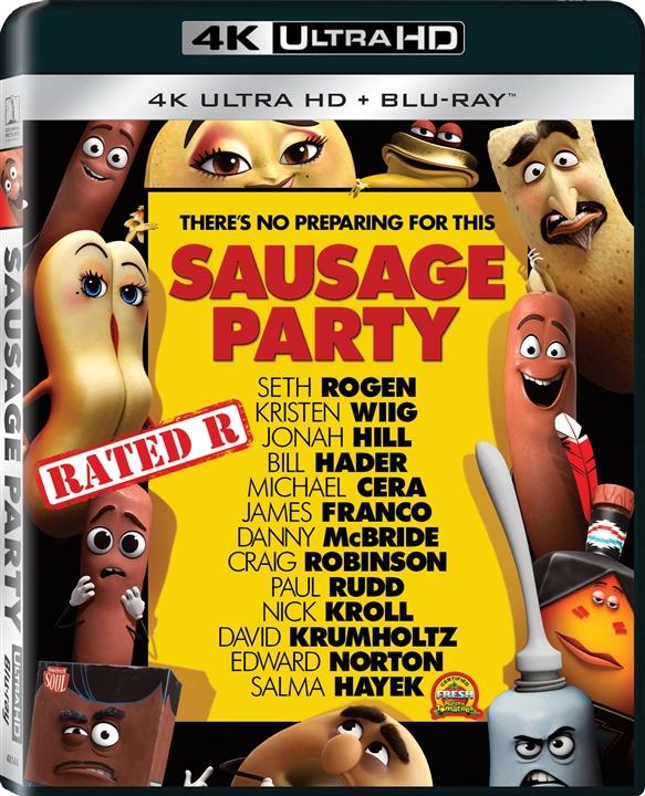 Sausage Party (2016) 4K Ultra HD Blu-ray