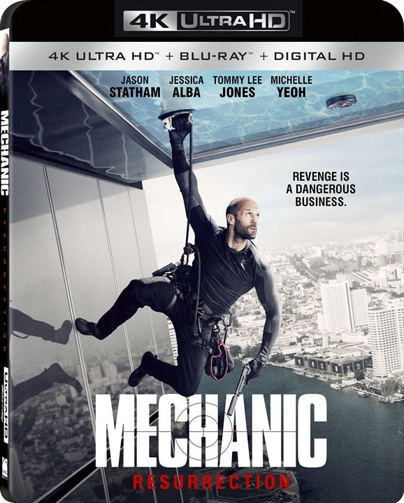 Mechanic: Resurrection 4K (2016) 4K Ultra HD Blu-ray