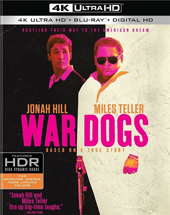 War Dogs 4K (2016) 4K Ultra HD Blu-ray