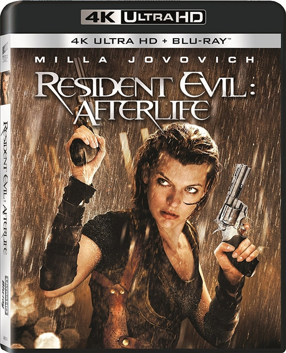 Resident Evil: Afterlife 4K (2010) Ultra HD Blu-ray