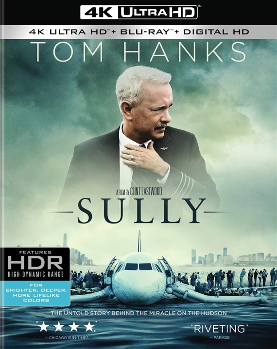 Sully 4K (2016) Ultra HD Blu-ray