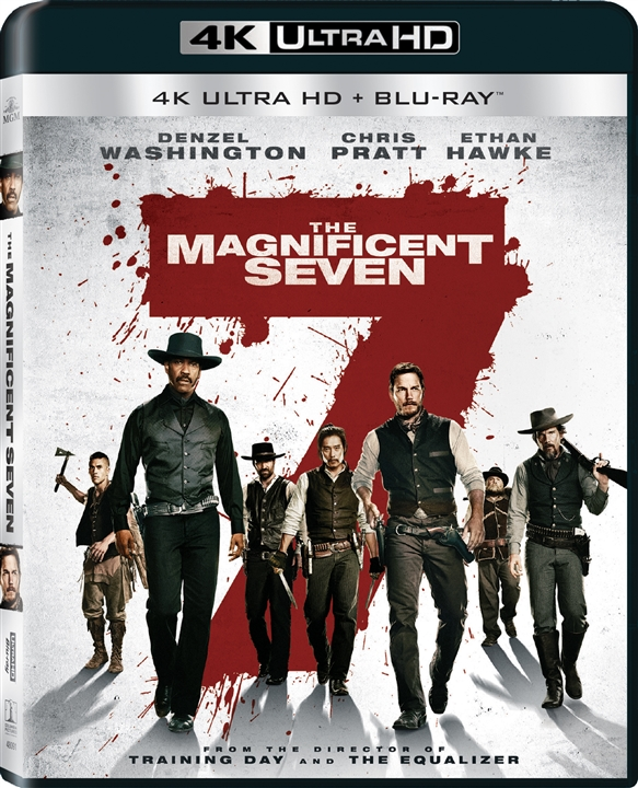 The Magnificent Seven 4K (2016) Ultra HD Blu-ray